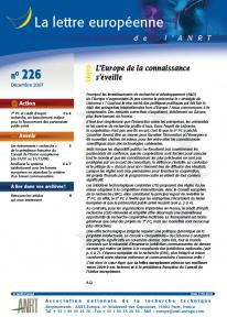LEA 226 sommaire