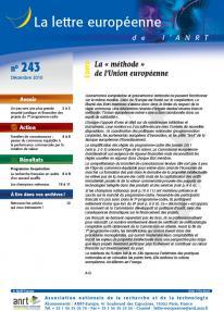 LEA 243 sommaire