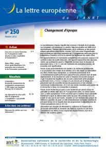 LEA 250 sommaire